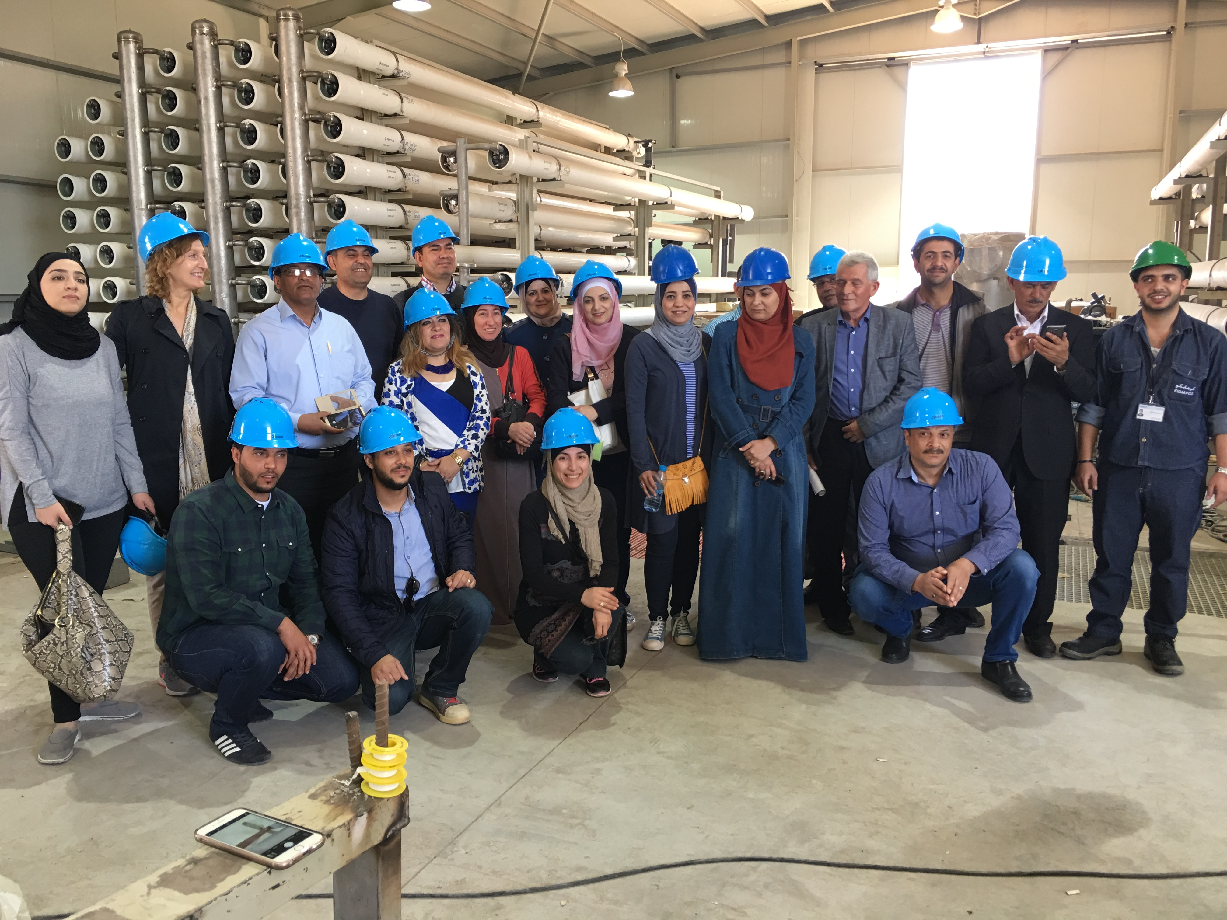 Seawater desalination in Jordan begins with training by IHE Delft
