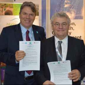 UNESCO-IHE signs agreement establishing the Ramsar Chair for Wise Use of Wetlands