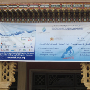 UNESCO-IHE present at the annual world groundwater congress