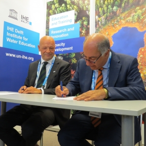 MoU with Ministry of Water Resources in Iraq